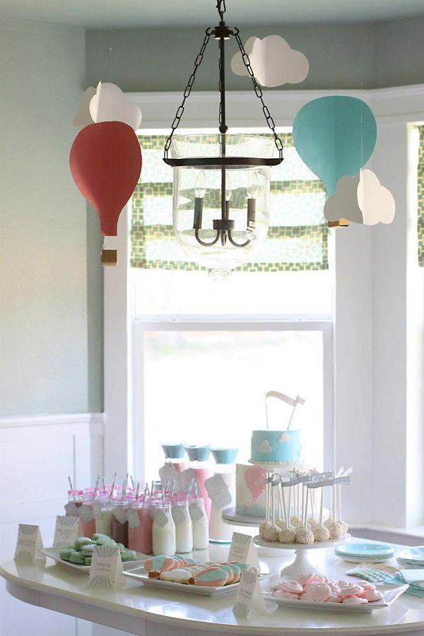 up, up & away 1st birthday {prettiest print shop via shop sweet lulu}