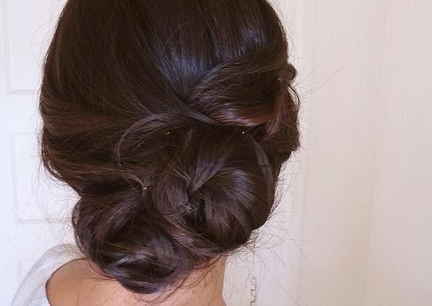 fancy updo hair. For when mine is long again. :)