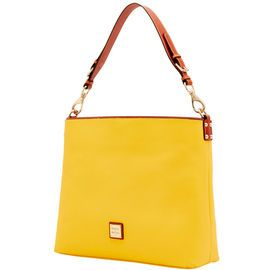 Dooney & Bourke | Pebble Gain Extra Large Courtney Sac | Spring Fashion    Yellow | Trends | Trending | Yellow Handbag | Yellow Accessory | Yellow Accessories | Yellow Purse | Fashion | Style | Bold | Dandelion | Daffodil | Mustard | Lemon | Limone | Banana | Pineapple | Gold | Butterscotch | Honey | Bumblebee | Blonde | Butter | Tuscan Sun