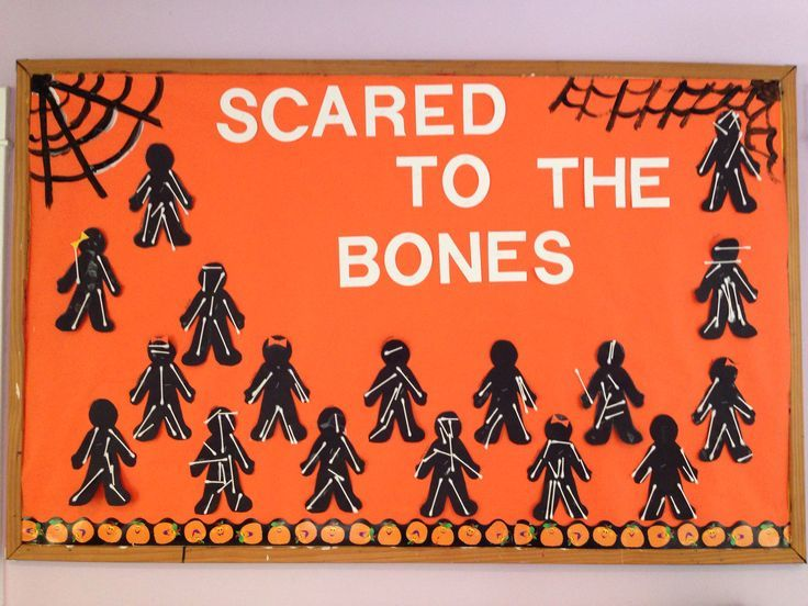 Halloween Bulletin Board Idea Where Students Create