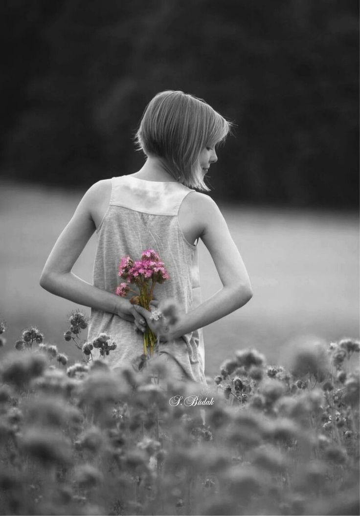 Color Splash Black White Pink Beautiful Women 1 Beauty Good Looking Beleza And