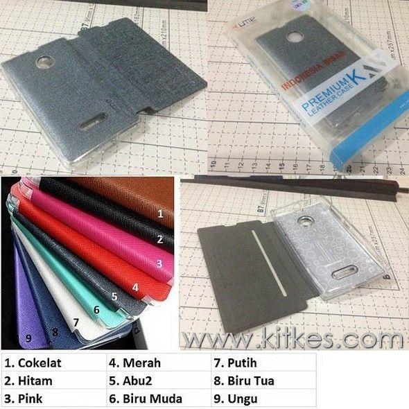Ume Enigma Folio Case Microsoft Lumia 435 - Rp 135.000 - Kitkes.com