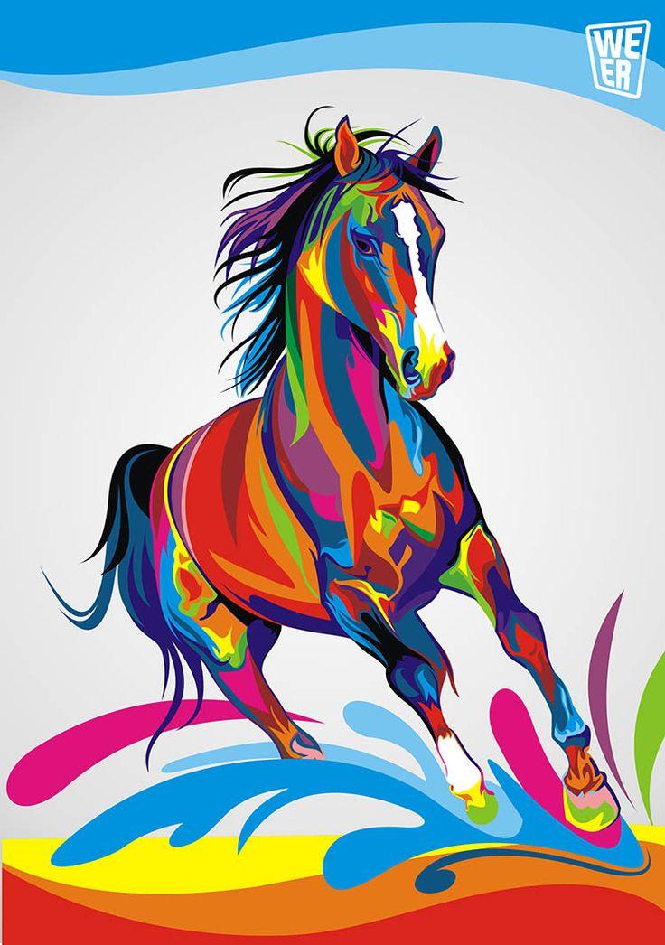 Coloridas Ilustraciones Vectoriales de Animales