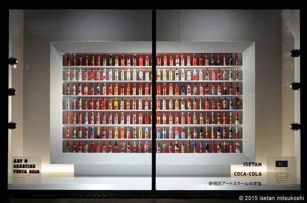 伊勢丹 新宿店本館 2015年8月 ショーウィンドウ1