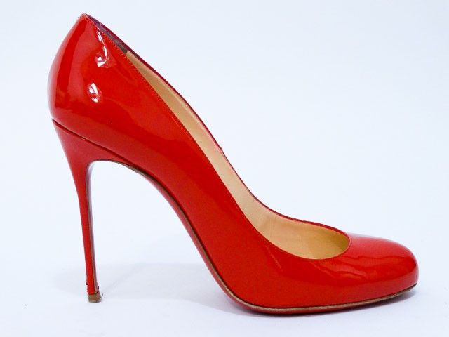 Just in! Christian Louboutin Lipstick Red Patent Fifi Pumps In Box ...