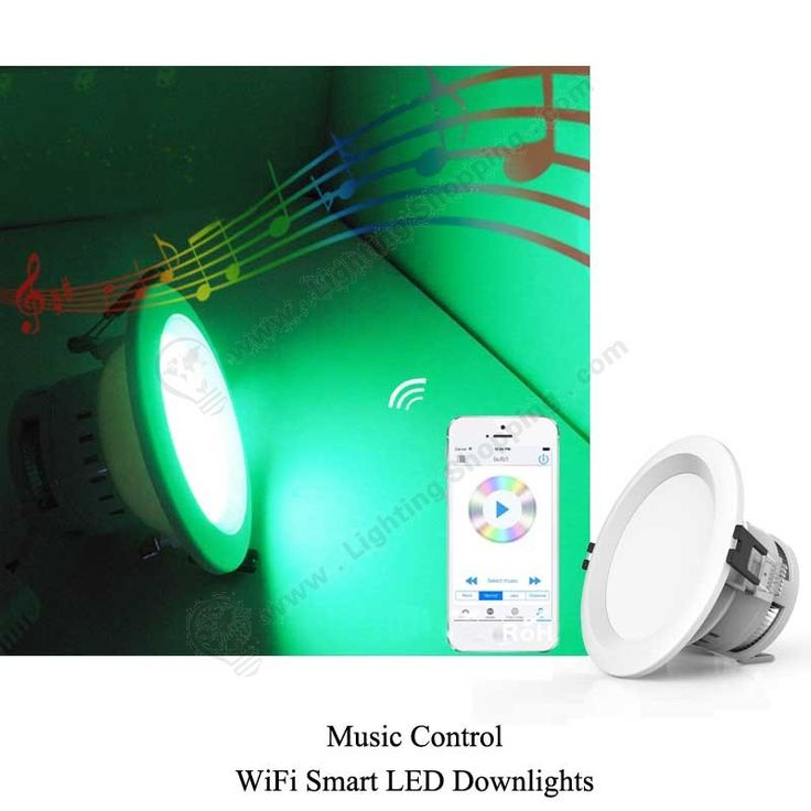 RGBW Wifi LED Downlights 7.5W -music-controlled-1 More details at >>> http://www.lightingshopping.com/rgbw-wifi-led-downlights-7-5w.html