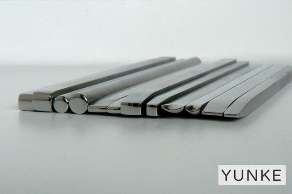 Hand made chasing and repousse tools - Basic Shapes Set -BS#01 (12 pieces)-