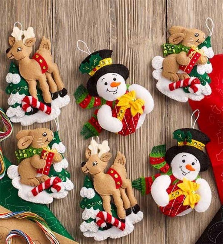 Felt Christmas Stockings Kits