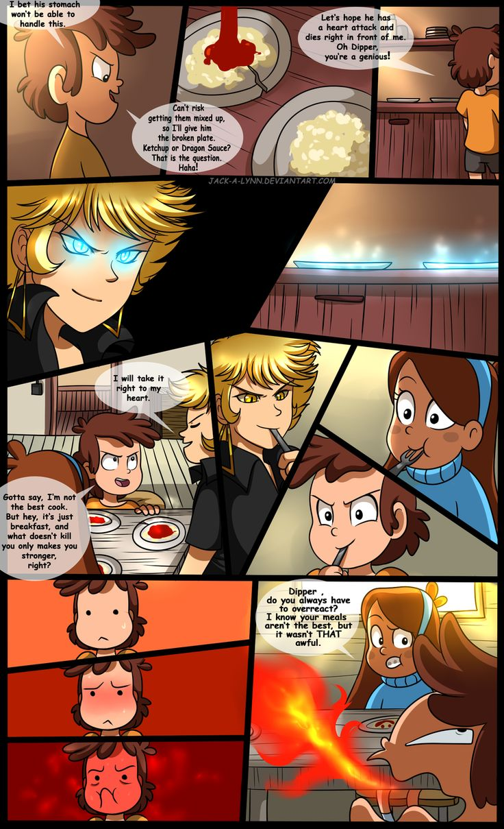 Gravity Falls Comic : Golden Surprise 19 by YogurtYard