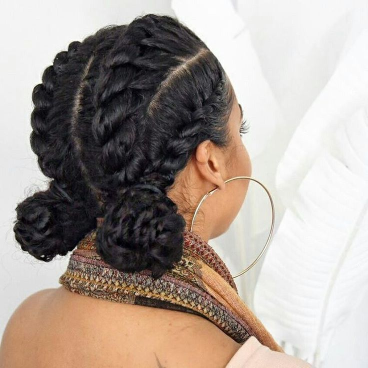 protective style for hair pretty protective style lipstickncurls hair 4613