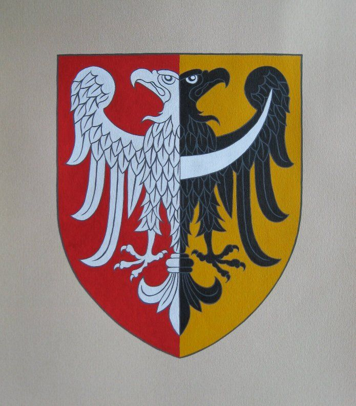 The Coat of arms of the city of Wrocław (1948-1990)
