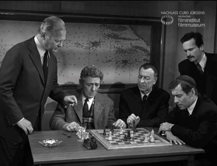 "SCHACHNOVELLE (1960) Filmausschnitt ""Erste Partie"""