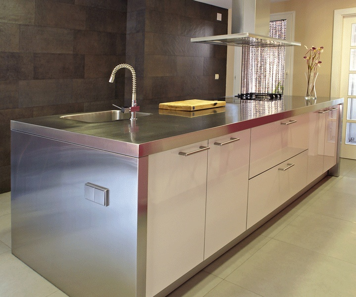 find this pin and more on stainless steel kitchen ideas - Stainless Steel Kitchen Ideas
