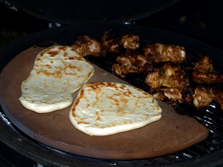 Naan recipe for The Big Green Egg.