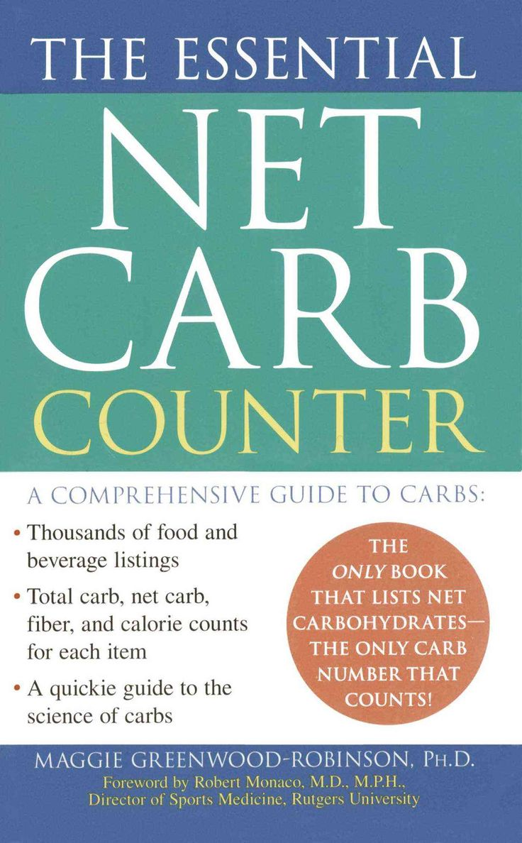 How do you use a carbohydrate counter chart?