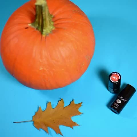 #semilac nail polish fall colors and a little bit of #stopmotion magic. Thanks to Diamond Cosmetics
