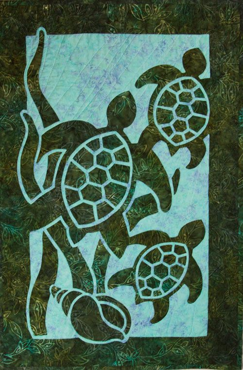 Best 25 Turtle Quilt Ideas On Pinterest Hawaiian Quilts