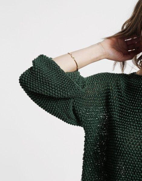 Love thing Sweater   knit it   @woolandthegang.com