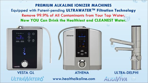 Alkaline water is more hydrating than bottled water. Ionized alkaline water is full of antioxidant power, vital for good health. Learn more...