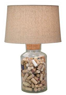 fillable glass lamp seashells google search - Fillable Lamp