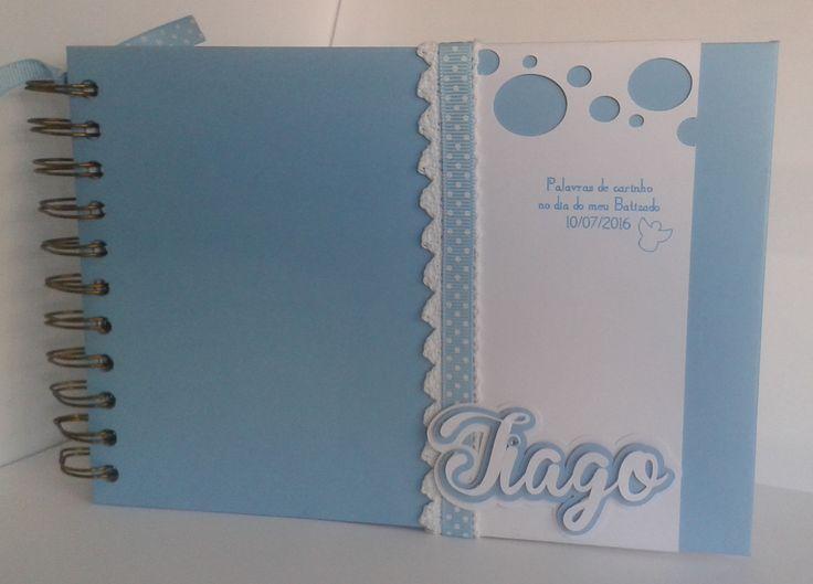 Livro de Honra para o Tiago