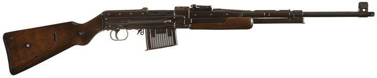 Rare Late World War II German Gustloff-Werke Prototype Sheet Metal Semi-Automatic Rifle