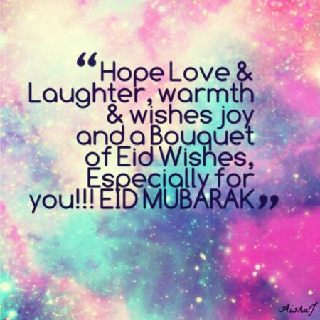 love warmth laughjter eid wishes 450x450 EId Mubarak wishes 2014 Pictures Quotes Photos