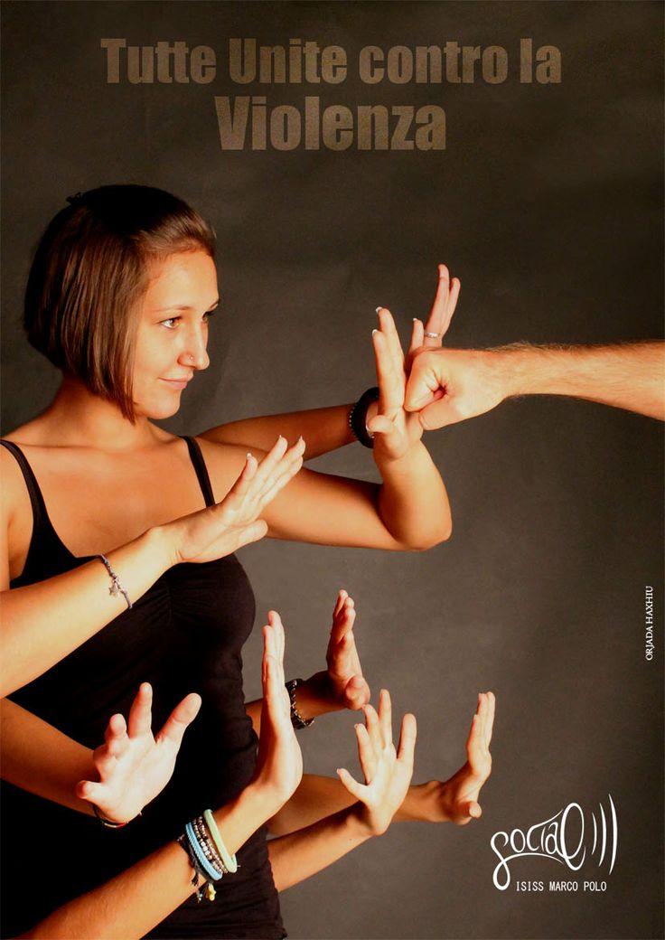 Campagna sociale contro la violenza sulle donne. Haxhiu Orjada, 2013