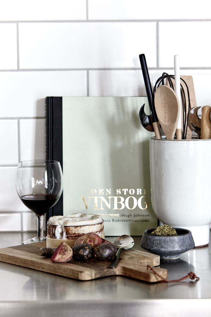 It's all about the details – and function. Personalise your kitchen with wooden utensils that have an aesthetic appeal, like rustic cutting boards, spoons and tongs. They will bring warmth and character to your kitchen and home. And when used, they'll develop a beautiful patina.
