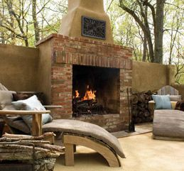 The 25 best indoor outdoor fireplaces ideas on pinterest for Back to back indoor outdoor fireplace