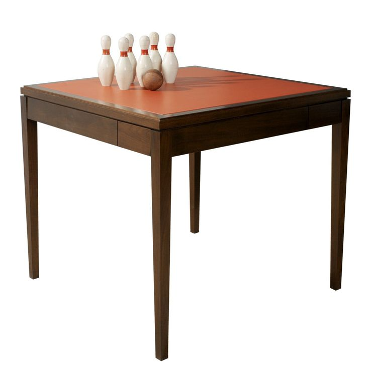 Games Table  Contemporary, Traditional, Transitional, MidCentury  Modern, Leather, Wood, Upholstery  Fabric, Game Table by Maxine Snider Inc