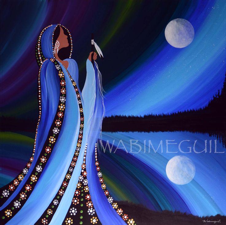 Northern Lights 2 by Wabimeguil  Visit wabimeguil.artstorefronts.com to see more
