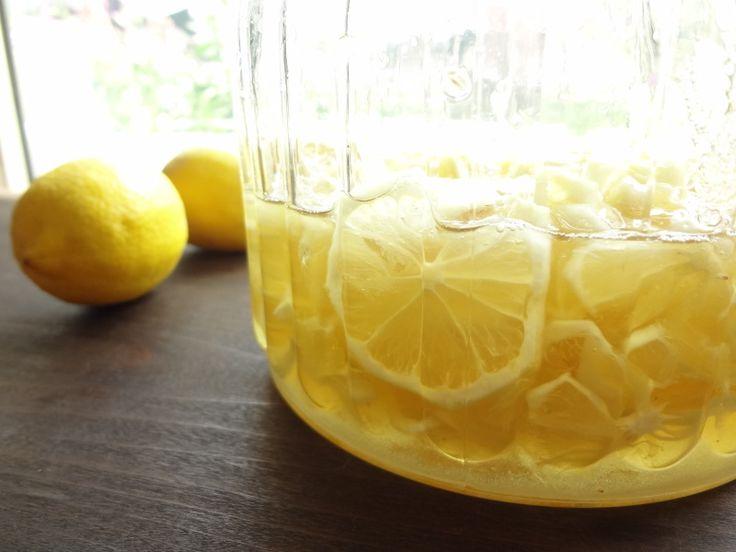 ★自家製レモネードが超簡単にできちゃう!国産レモンシロップの作り方★  パティシエール★あいぼんブログ