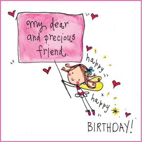 My dear precious friend.. Happy, happy birthday!