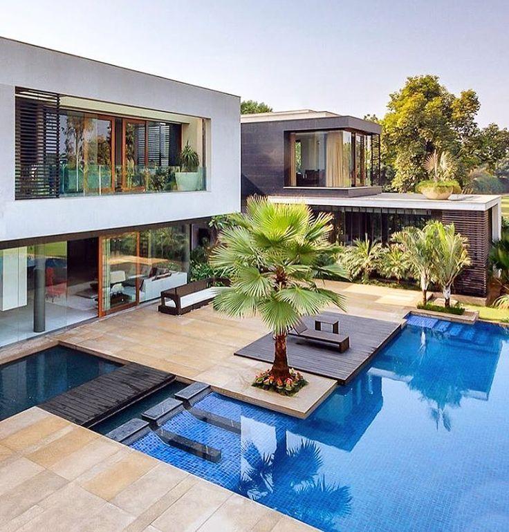 2103 best piscine et maisons images on Pinterest Arquitetura - l eau de ma piscine est verte et trouble