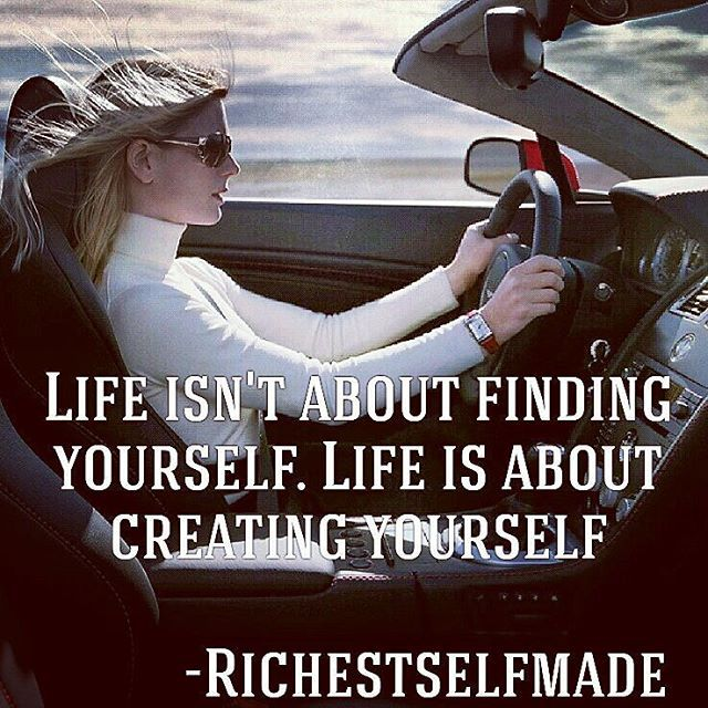 Create yourself! Just do it! Double tap for more inspiration ✔Follow @richestselfmade  #motivation #inspiration #entrepreneur #selfmade #startup #billionnaire #millionaire #lifestyle #luxury #successstory #success #dowhatyoulove #bepositive #richestselfmade #likeforlike #dowhatyoulove #followus #follow #instafollow #instainspiration.