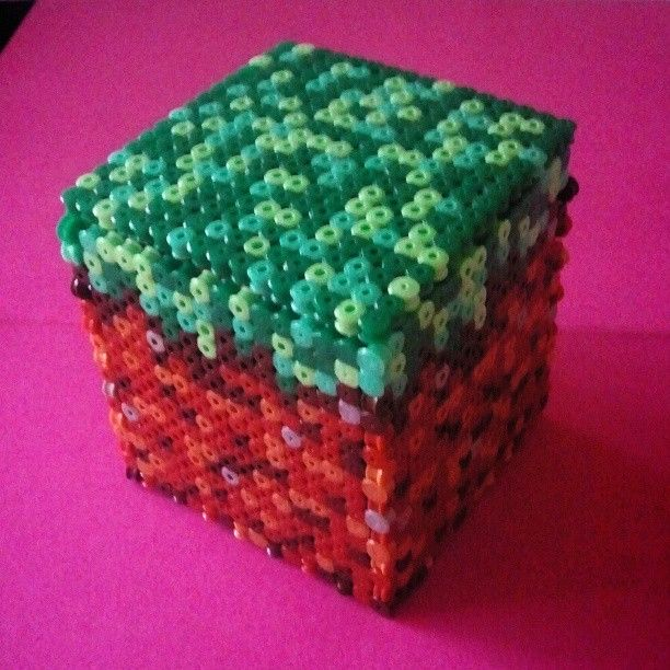 17 best images about minecraft homeschool perler minecraft box perler beads by pausexrewind