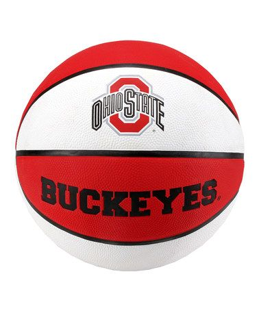 Take a look at this Ohio State Buckeyes Rubber Basketball by Baden on #zulily today!