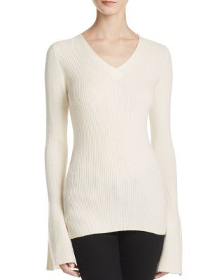 Rebecca Minkoff Stevie Bell Sleeve Cashmere Sweater | Bloomingdale's