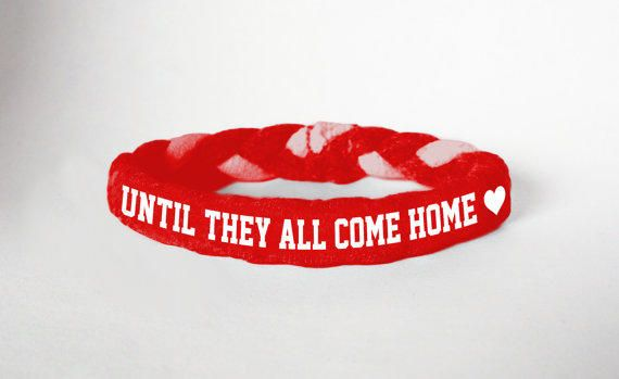 Red Friday Custom Military Support Bracelet, Until they all come home- Army, Air Force, Navy, Wife, Girlfriend, Fiance from MilitaryHeartTees on Etsy. #redfriday #navy #deployment #untiltheyallcomehome #marines #supportourtroops #airforce #usaf.