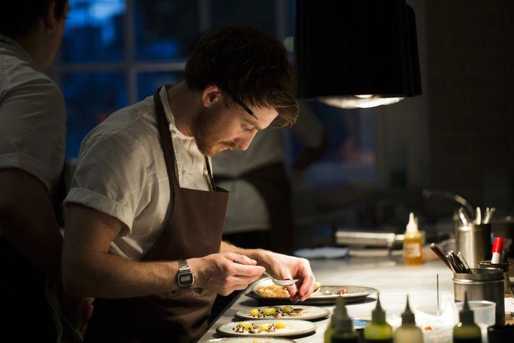 Chef Lee Westcott at work