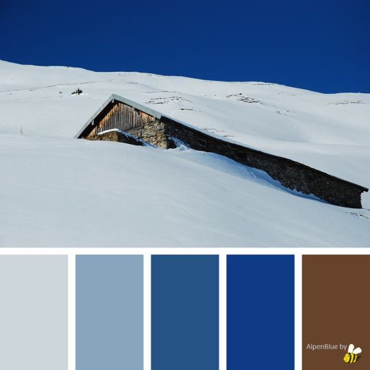 AlpenBlue palette by BeeBox (ONLY FOR PERSONAL USE!)
