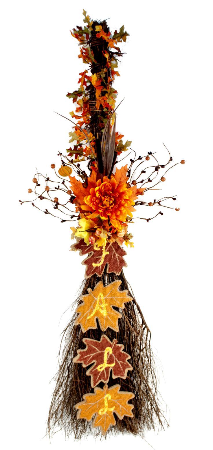 Fall Cinnamon Broom #fall #craft