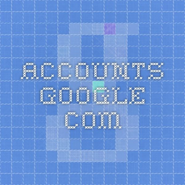 accounts.google.com