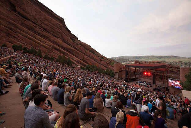 Red Rocks Amphitheatre | 20 Colorado Places That Will Literally Take Your Breath Away