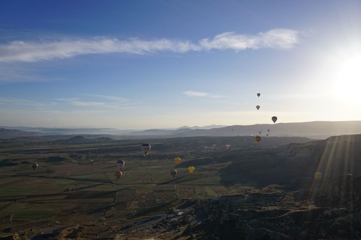 View from Hot Air Balloon over Cappadocia Turkey [OC] [60004000] #reddit