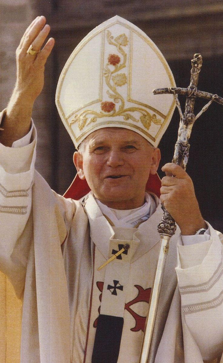 beloved & long leader of the Catholic Church - Pope John Paul II