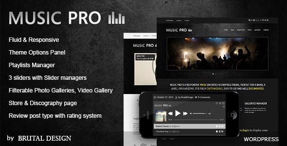 Music Pro v3.2.8 – Music Oriented WordPress Theme