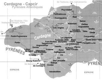 Cerdagne Capcir Pyrénées Orientales : locations, stations ski, randonnées