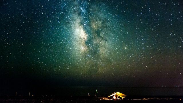 Counting stars in Sougia (southern #Crete)